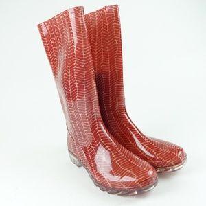 TOMS Women Jelly Rubber Cabrilla Rain Boot R4S4